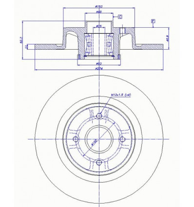 disque de frein pour megane break scenic 1 origine pieces auto. Black Bedroom Furniture Sets. Home Design Ideas