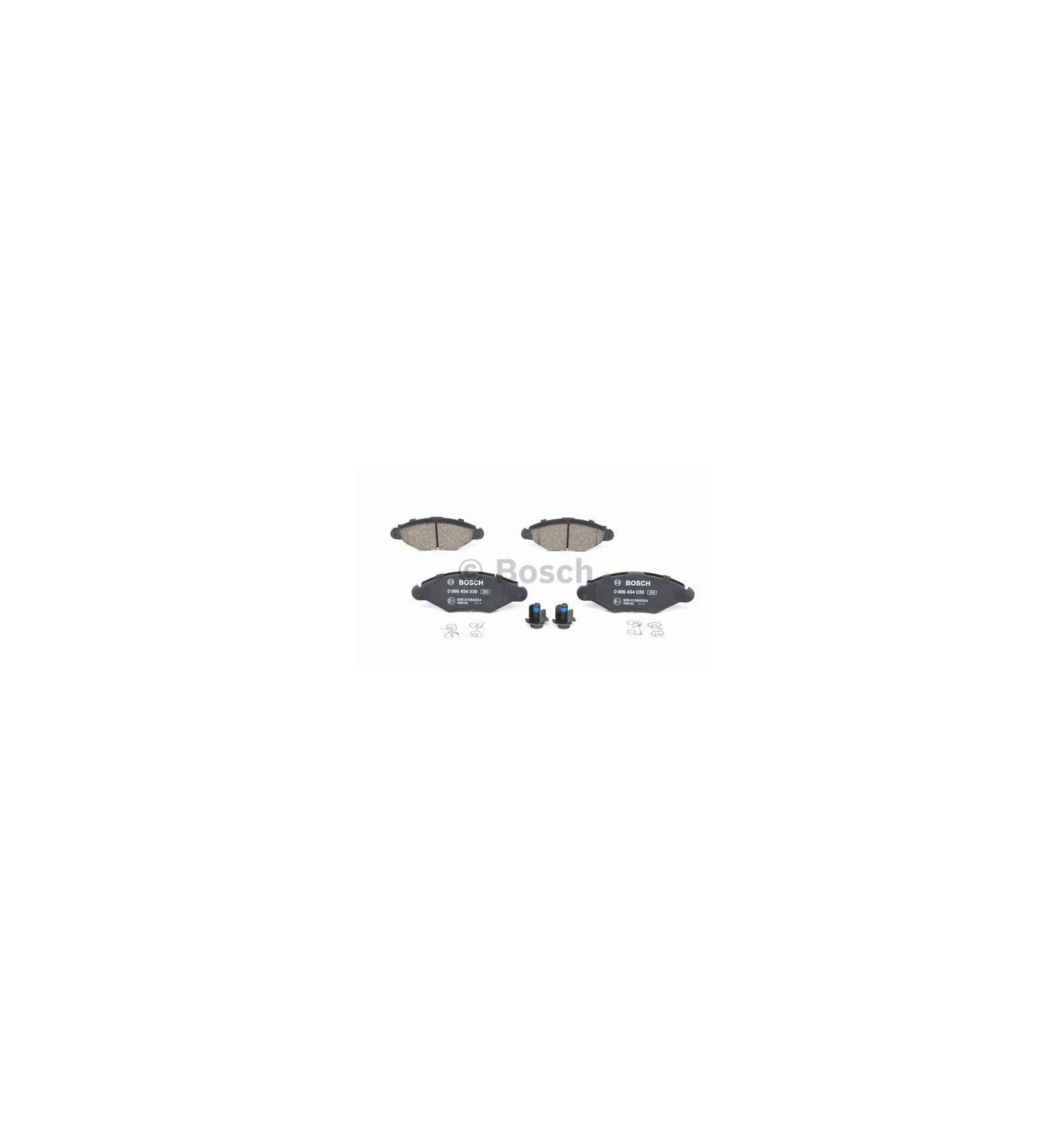 jeu de 4 plaquettes de frein avant citroen peugeot. Black Bedroom Furniture Sets. Home Design Ideas