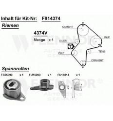 Kit distribution pour renault megane 1.9 D DTI Turbo diesel