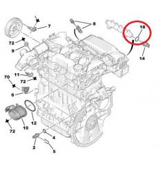 Joint de capteur de pression de carburant Peugeot Citroen 1.4 / 1.6 Hdi