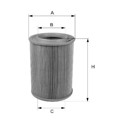 filtre a air peugeot citroen moteur Xu
