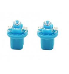 Ampoules LED B8.5d BAX Bleu 12V tableau de bord