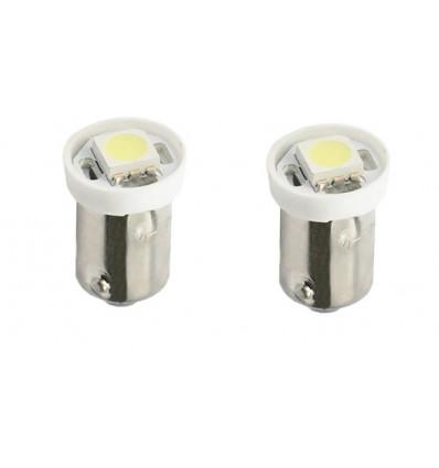 Ampoules LED BA9S SMD 5050 Blanche 12V