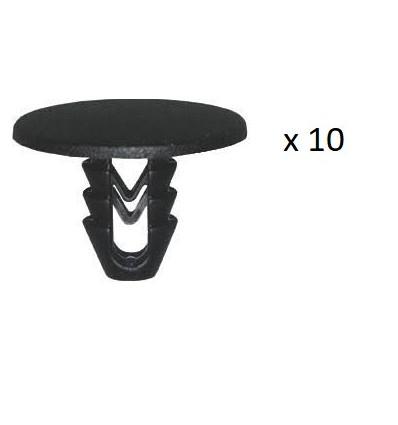 10 Clips de fixation panneau de porte Fiat Fiat