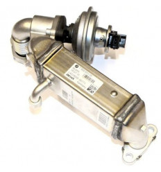 Vanne EGR avec radiateur echappement Bmw Serie 1 3 5 120/320/520d