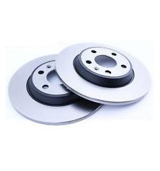 Jeu de disques de frein avant ventile Bmw Serie 1