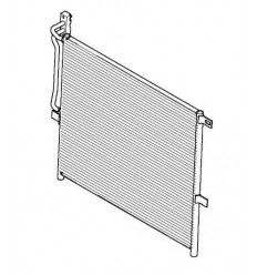 Condenseur de climatisation Bmw Serie 3 E46 X3 E83