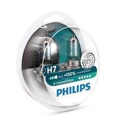 coffret 2 Ampoules H7 Philips XtremVision Boites d' ampoules