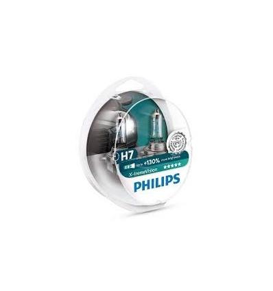 coffret 2 Ampoules H7 Philips EcoVision