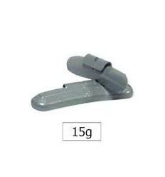 Masse d'équilibrage en zinc 15 g