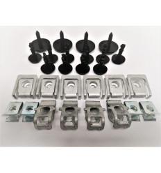 Kit de fixation sous moteur Audi A4 / A5 Cache de Protection sous moteur