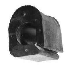 Silent bloc de barre stabilisatrice diam 23 mm Renault 19 clio 1 2 megane 1
