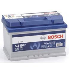 Batterie Bosch AGM/EFB ( START/STOP ) 65AH 650A ( 278x175x175 ) Batterie