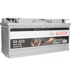 Batterie Bosch AGM ( Start/stop ) 12V - 105AH - 950A Batterie