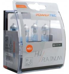 Coffret de 2 ampoules H4 9003 platinium