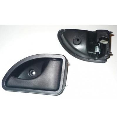 Poignée de porte droite Renault Twingo Kangoo Noir Poignée de porte