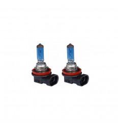Jeu de 2 ampoules halogène H11 12V 55W effet xénon Boites d' ampoules