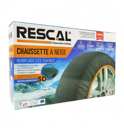Chaussettes à neige - Chaussettes à neige RESCAL 3D taille XL RESX-large