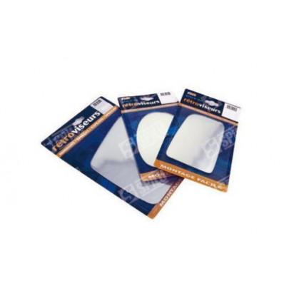 Glace de rétro à coller D pour PEUGEOT 309-405-505-86