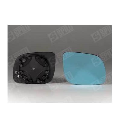 Glace de rétro bleu droit + support A3 A4 A6 A8