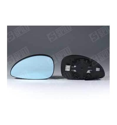 Miroir glace retroviseur droit Citroen C5 avec support degivrant d/'origine bleu