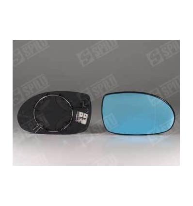 Glace de rétro bleu droit + support dégivrant Citroen C5
