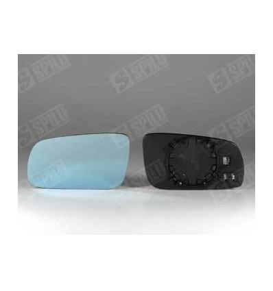 Glace de rétro bleu gauche + support A3 A4 A6 A8