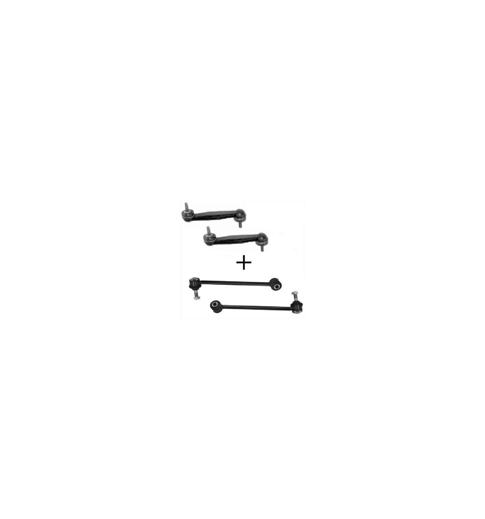 lot de 4 biellette de suspension arri re peugeot 406 origine pieces auto. Black Bedroom Furniture Sets. Home Design Ideas