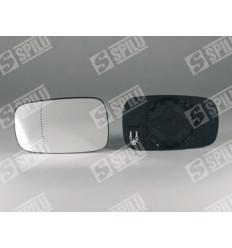 Glace de retroviseur gauche avec support chauffant Renault Clio 3 Scenic 2 et Megane 2