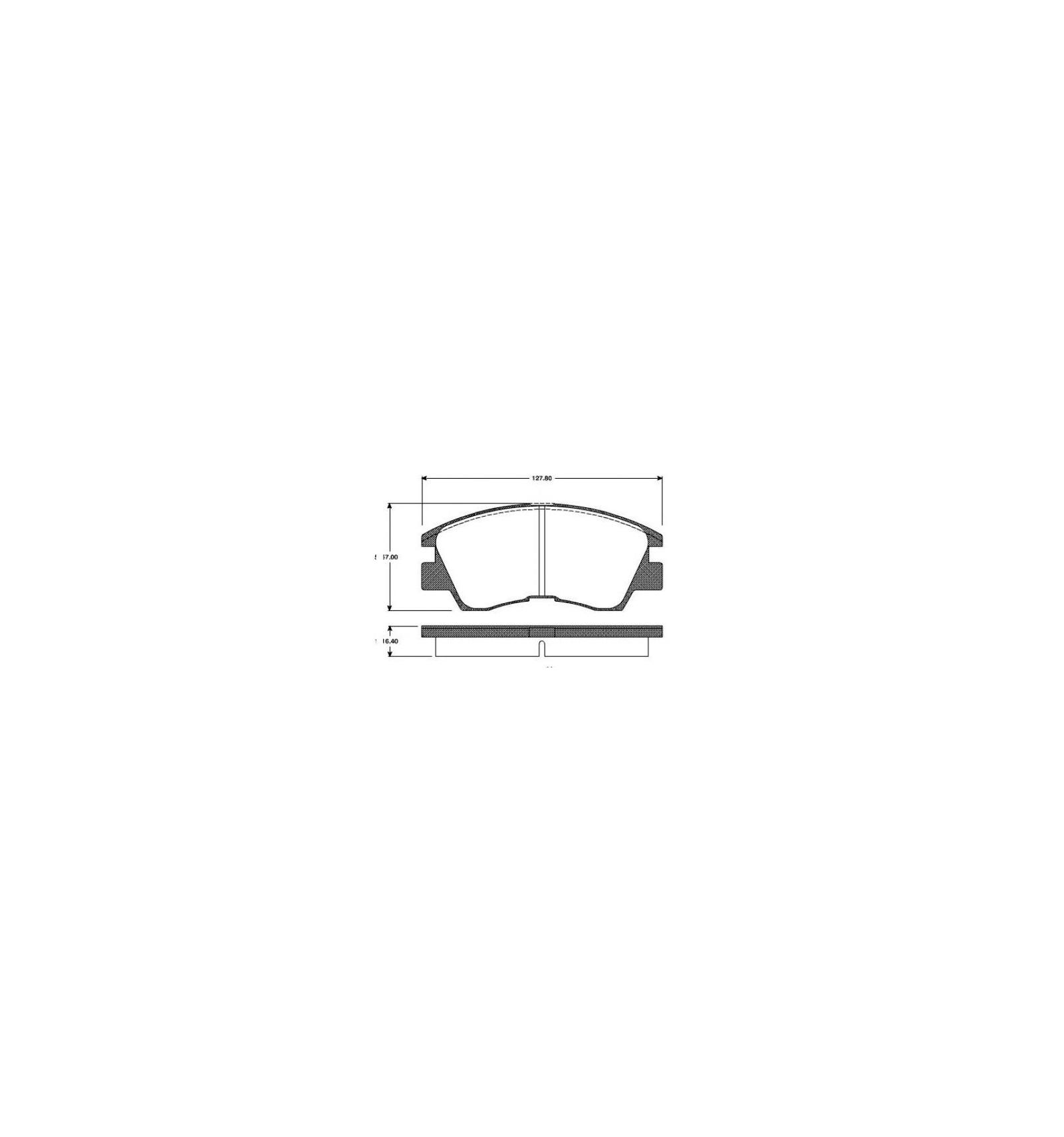 Auto L200 Origine Plaquettes De Avant Pieces Frein Pajero Mitsubishi Montero QxWreEBodC