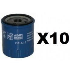 Lot de 10 Filtres a huile Peugeot Citroen OC310 - W716 1 - LS903