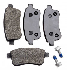 4 plaquettes de frein arriere renault megane 3 scenic 3 montage bosch origine pieces auto. Black Bedroom Furniture Sets. Home Design Ideas