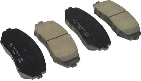 plaquettes de frein avant suzuki grand vitara origine pieces auto. Black Bedroom Furniture Sets. Home Design Ideas