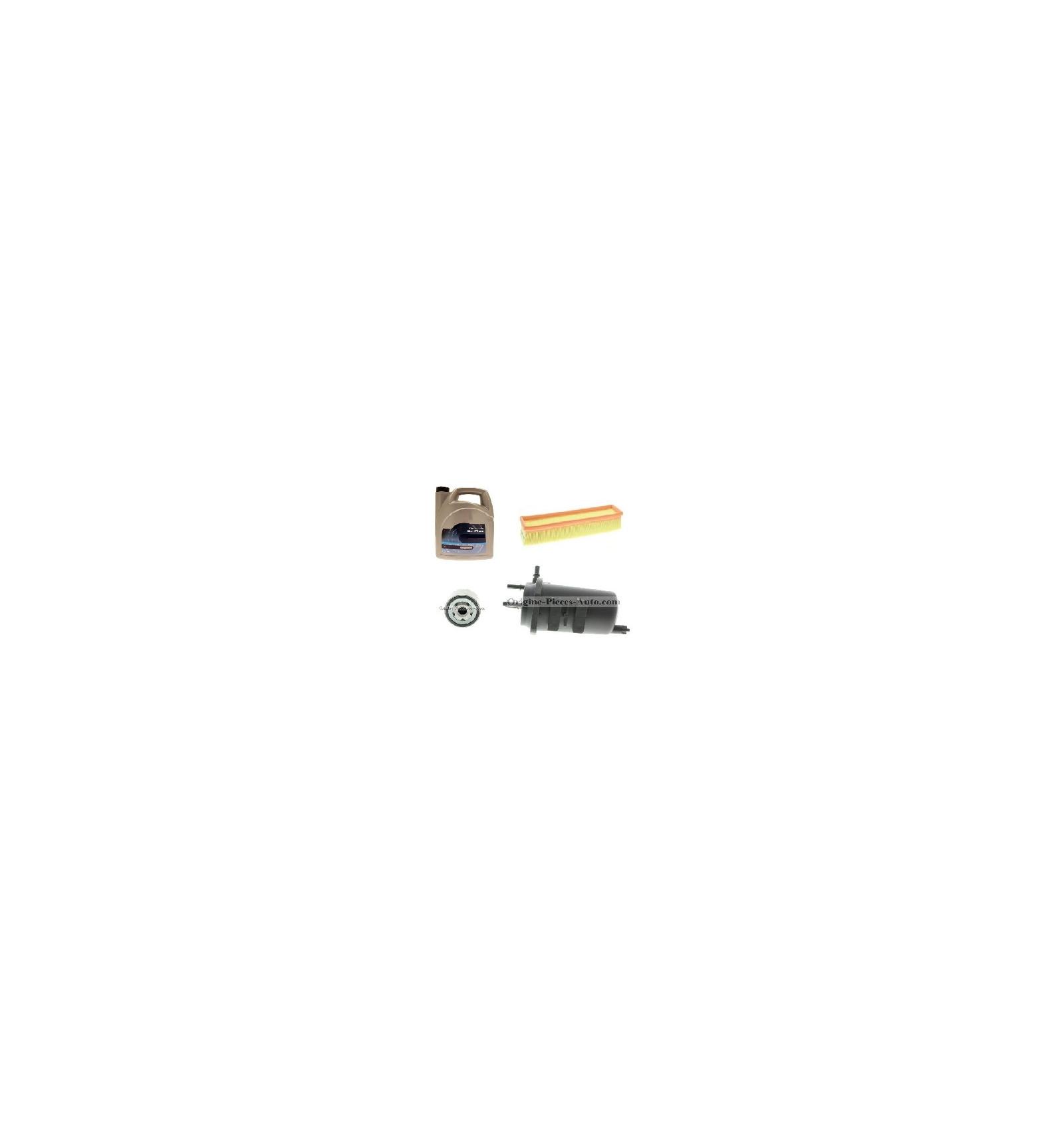 pack 3 filtres huile vidange pour renault clio 2 et kangoo 1 5 dci. Black Bedroom Furniture Sets. Home Design Ideas