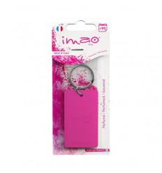 Parfum d'ambiance intérieur Porte clés couleur Rose Gamme IMAO parfum d'intérieur