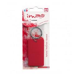 Parfum d'ambiance intérieur Porte clés couleur Rouge Gamme IMAO parfum d'intérieur