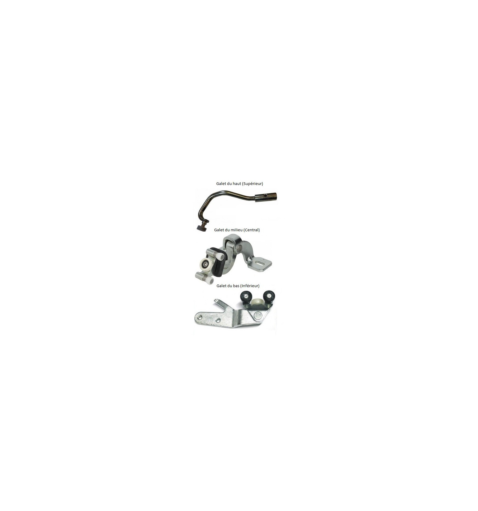 kit de roulette porte coulissante Kit 3 galets rouleaux de guidage porte lateale coulissante droite Citroen  Jumper Peugeot Boxer Fiat Ducato ...