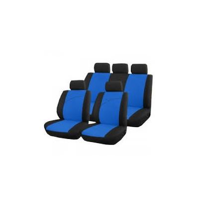 Housses de sieges et d appuis-tête bleu Universelle Victoire Equipement Interieur