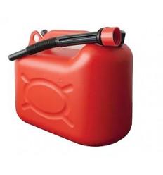 Jerrican plastique rouge Bidon 20 L
