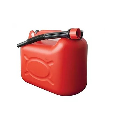 Jerrican plastique rouge 20 L