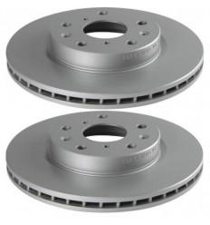 2 Disques de frein Avant Bosch Peugeot 407 508 607 Disque de frein