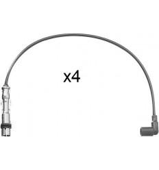 Jeu 4 cables d'allumage Seat Vw