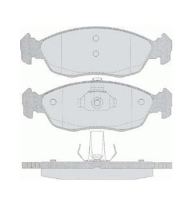 Plaquette de frein pour Saxo / Xsara