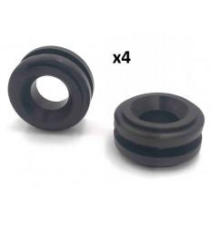 4 Silents bloc inferieur de boitier de filtre a air Citroen Peugeot 1.6 Hdi