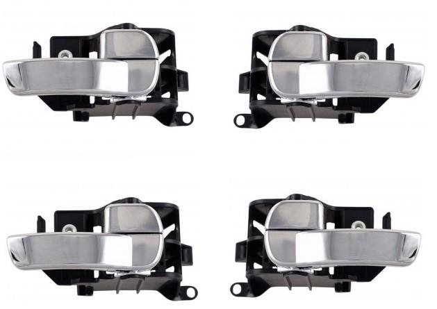 Lot 4 poignée interieur porte Nissan Pathfinder /& Navara 80670-EA500 80671-EA500
