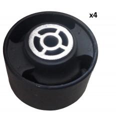 Lot 4 Silents bloc support moteur 206 306 307 405 406 605 607 806 807 Xantia Xsara Evasion jumpy Xm Zx Bx