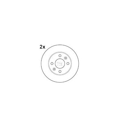 mapco disque de frein pour nissan kangoo megane clio 15109 2. Black Bedroom Furniture Sets. Home Design Ideas